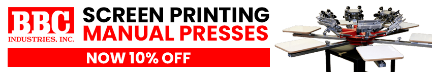 10% OFF BBC Manual Presses