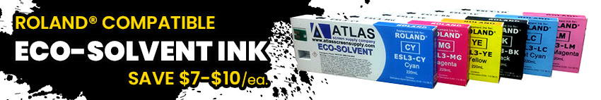 Eco-Solvent Roland Ink on Sale