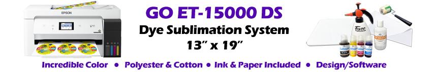 GO ET-15000 DS Dye Sublimation System