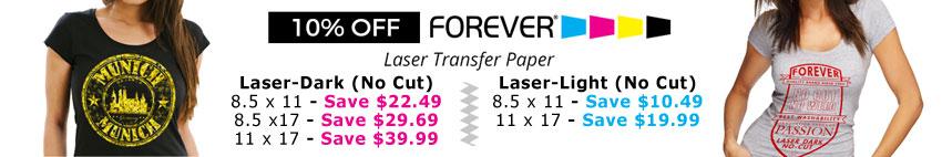 Forever Laser Transfer Paper
