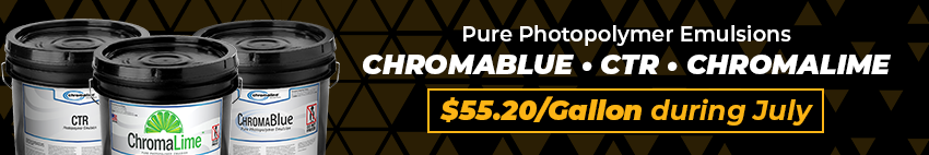 Chromaline July Sale