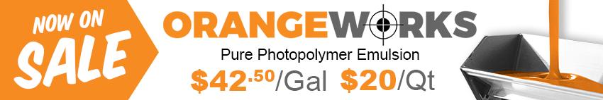 Orange Works Emulsion